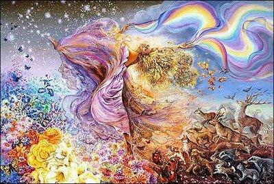 divinerainbowofcreaturesandflowers