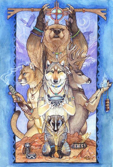 Животные и сила