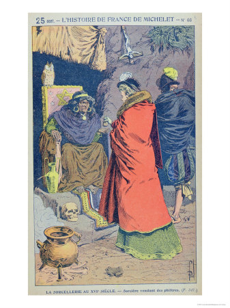 163098witchcraft-in-the-16th-century-a-witch-selling-some-philtres-from-histoire-de-france-posters