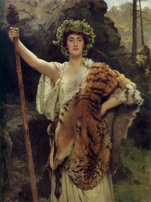 Bacchus by John Collier