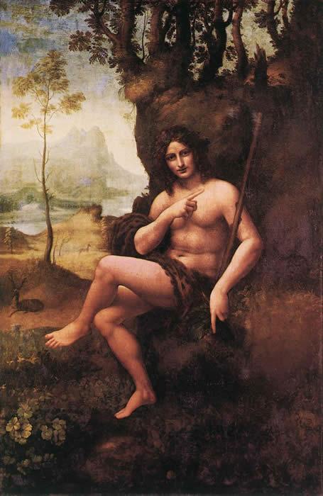 Leonardo da Vinci : Bacchus