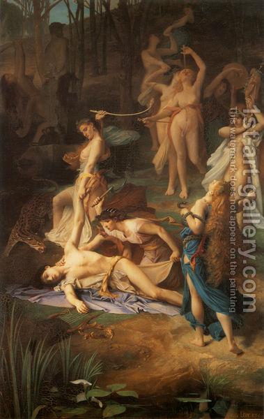 Death-Of-Orpheus-1866