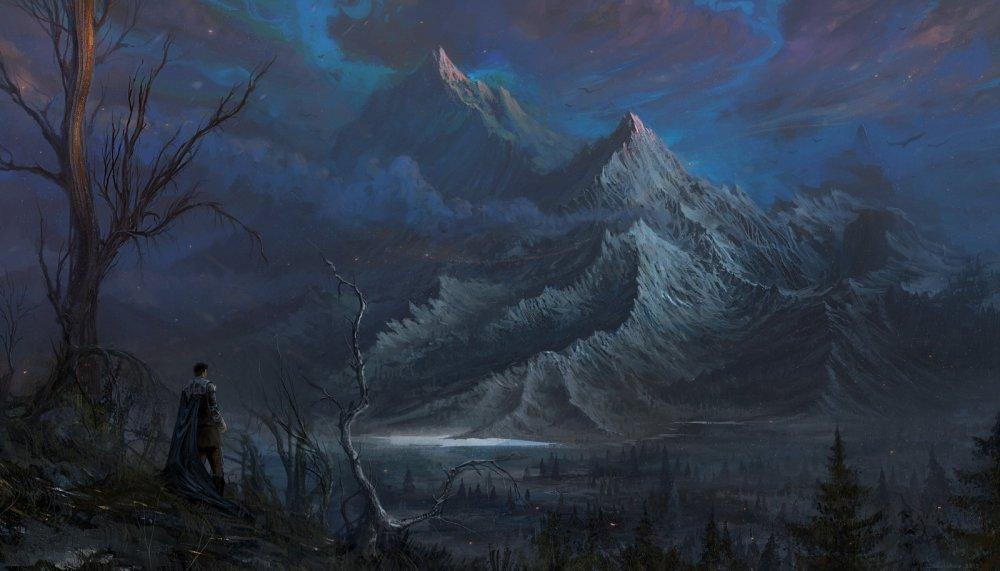 sunset_mountains_by_ssglushakov-d6jellw